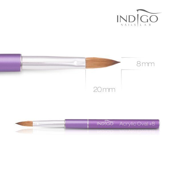 Indigo Acrylic Brush No 8