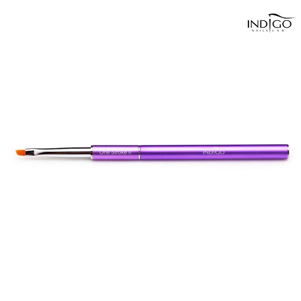 Indigo One Stroke II Brush metalowa rączka