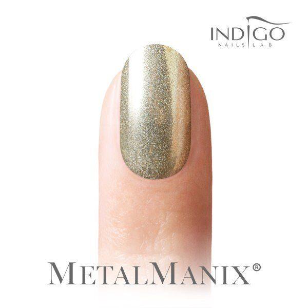 Metal Manix Effect Light Gold