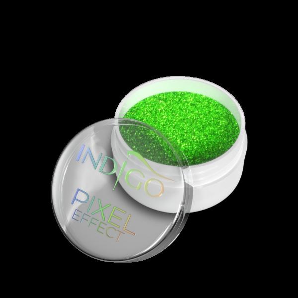 Pixel Effect Neon Green
