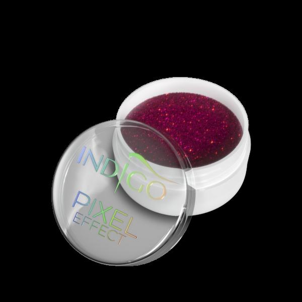 Pixel Effect Neon Lila