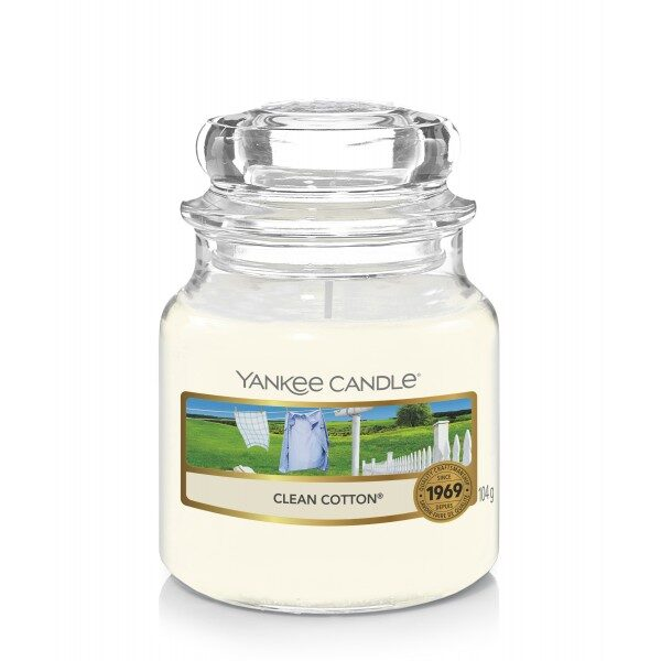 Yankee Candle Clean Cotton świeca mała