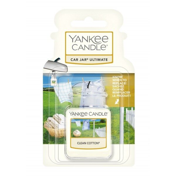 Yankee Candle Clean Cotton car jar ultimate
