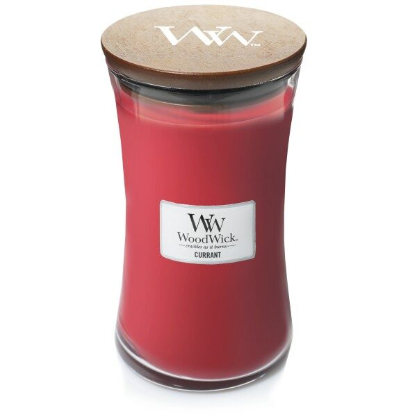 WoodWick Currant świeca duża