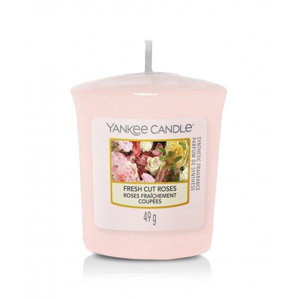 Yankee Candle Fresh Cut Roses świeca votive