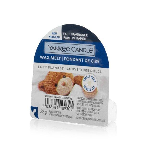 Yankee Candle Soft Blanket wosk