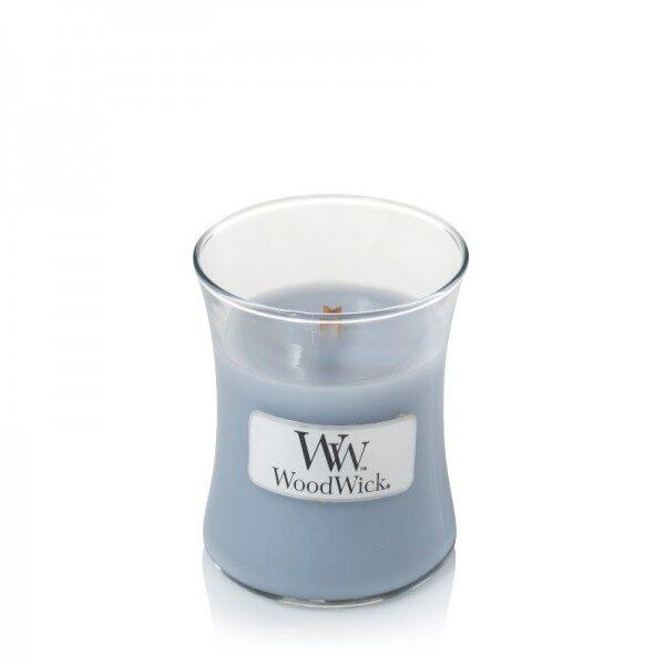WoodWick Soft Chambray świeca mała