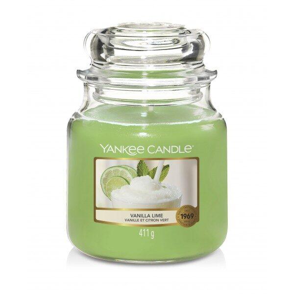 Yankee Candle Vanilla Lime świeca średnia