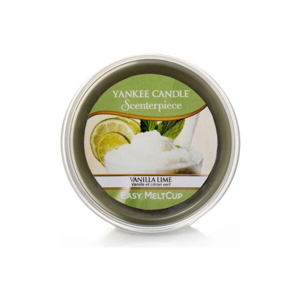 Yankee Candle Vanilla Lime wosk scenterpiece