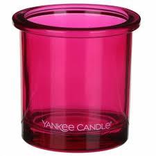 Yankee Candle świecznik na votive różowy