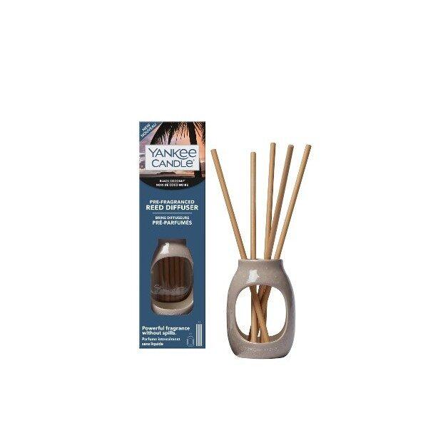 Yankee Candle Black Coconut pałeczki nasączone zapachem - zestaw
