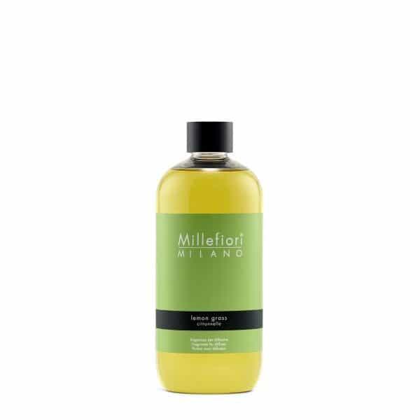 Millefiori Milano Lemon Grass uzupełniacz do pałeczek 500 ml