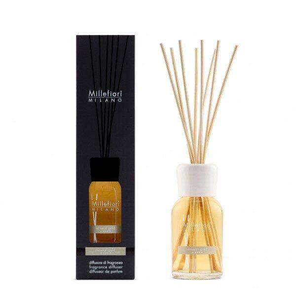 Millefiori Milano Mineral Gold pałeczki zapachowe 250 ml