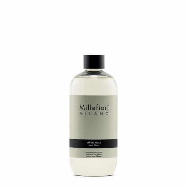 Millefiori Milano White Musk uzupełniacz do pałeczek 500 ml
