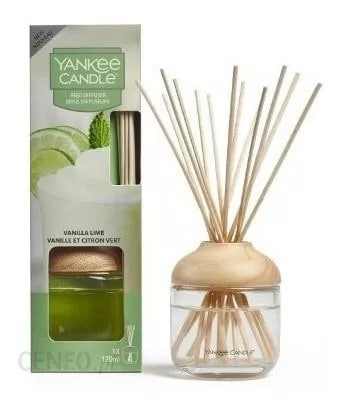 Yankee Candle Vanilla Lime pałeczki zapachowe 120 ml