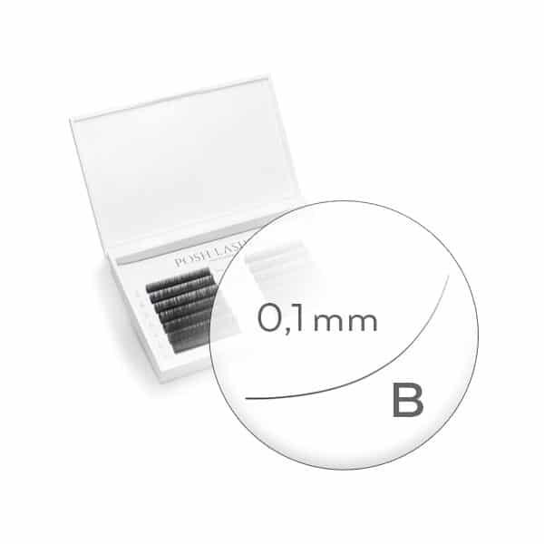 Business Line, Black B 0.1 4-7mm - mała paletka