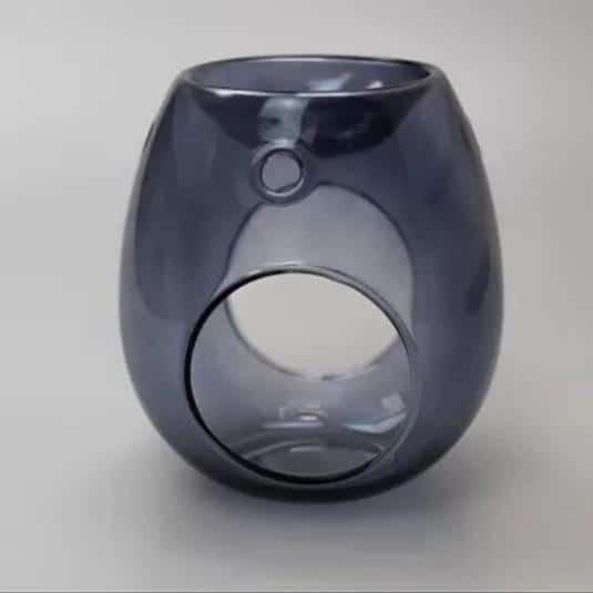 Kominek do wosków: Smoke Grey Glass