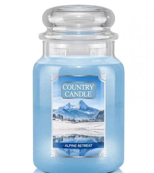 Country Candle Alpine Retrear świeca zapachowa (680g)