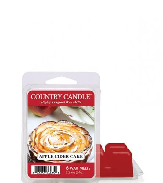 Country Candle - Apple Cider Cake - Wosk zapachowy (64g)
