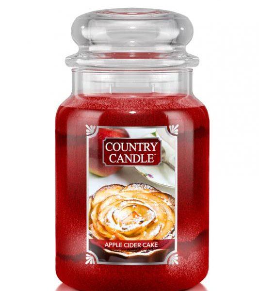 Country Candle Apple Cider Cake świeca zapachowa (680g)