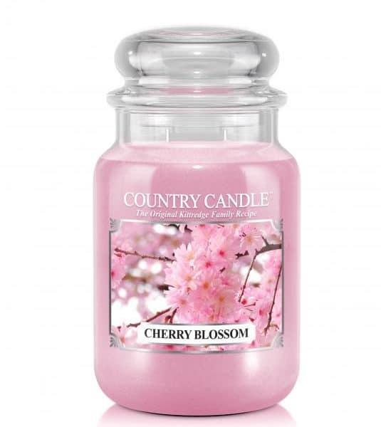 Country Candle Cherry Blossom świeca zapachowa (680g)