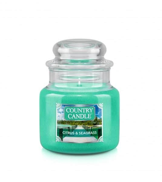Country Candle Citrus and Seagrass świeca zapachowa (104g)