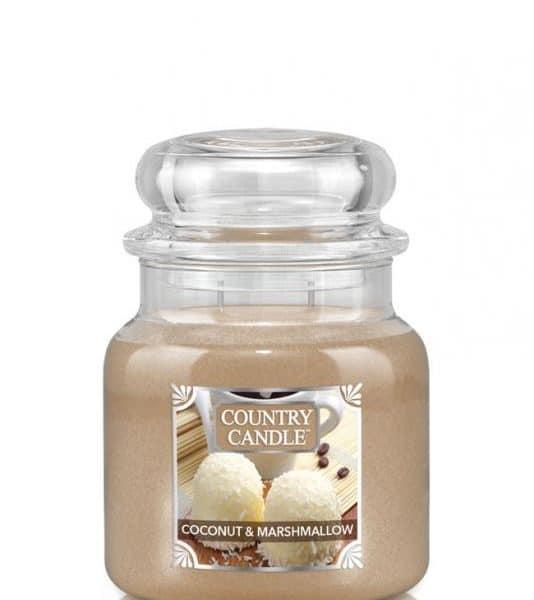 Country Candle Coconut Marshmallow świeca zapachowa (453g)