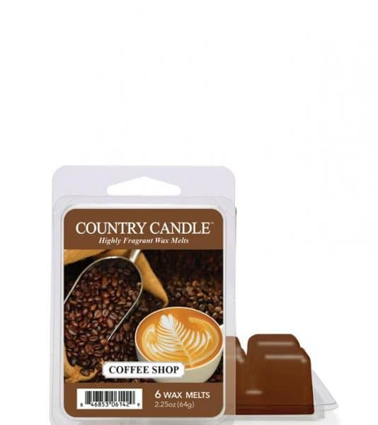 Country Candle - Coffee Shop - Wosk zapachowy (64g)
