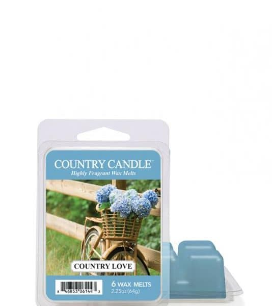 Country Candle - Country Love - Wosk zapachowy (64g)
