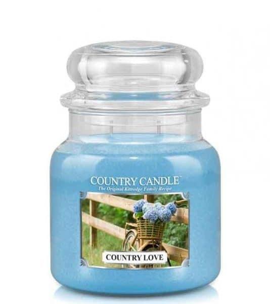 Country Candle Country Love świeca zapachowa (453g)