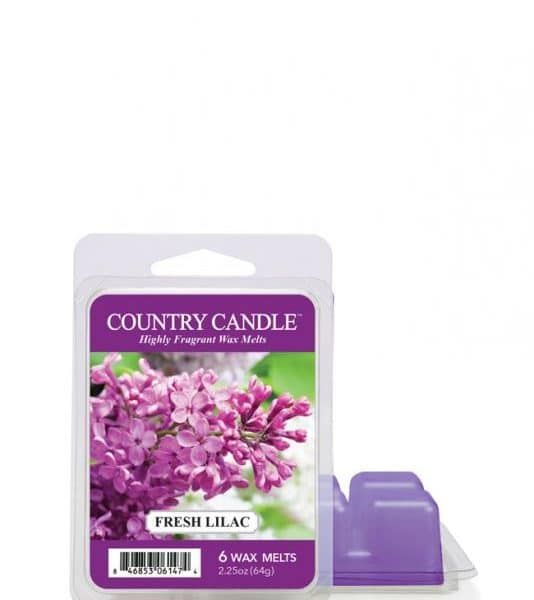 Country Candle - Fresh Lilac - Wosk zapachowy (64g)