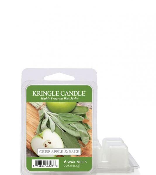 "Kringle Candle - Crisp Apple & Sage - Wosk zapachowy ""potpourri"" (64g)"
