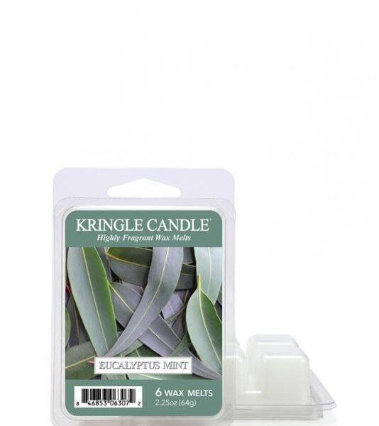 "Kringle Candle - Eucalyptus Mint - Wosk zapachowy ""potpourri"" (64g)"