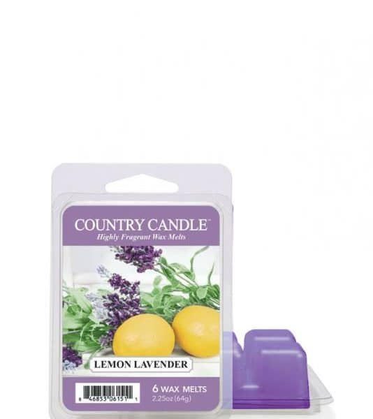 Country Candle - Lemon Lavender - Wosk zapachowy (64g)
