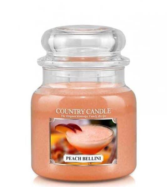 Country Candle Peach Bellini świeca zapachowa (453g)