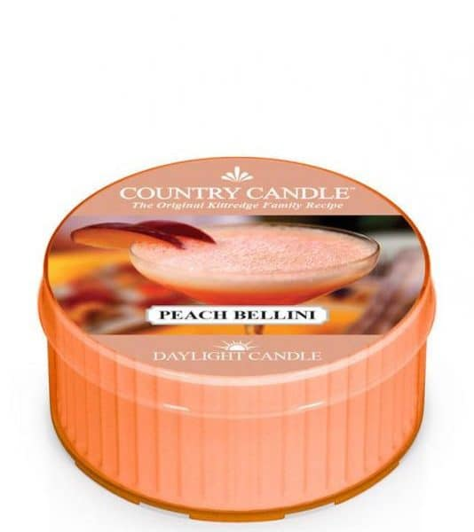 Country Candle - Peach Bellini - Daylight (35g)