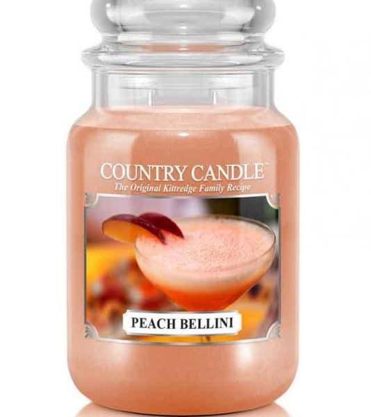 Country Candle Peach Bellini świeca zapachowa (652g)