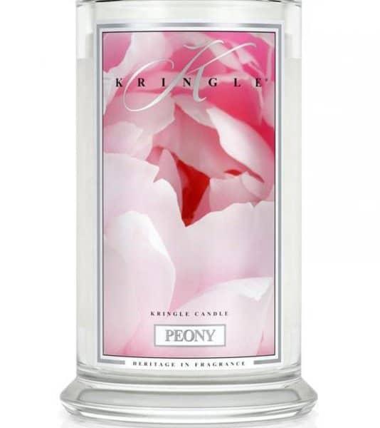 Kringle Candle Peony świeca zapachowa (623g)
