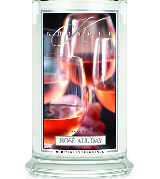 Kringle Candle Rose All Day świeca zapachowa (623g)