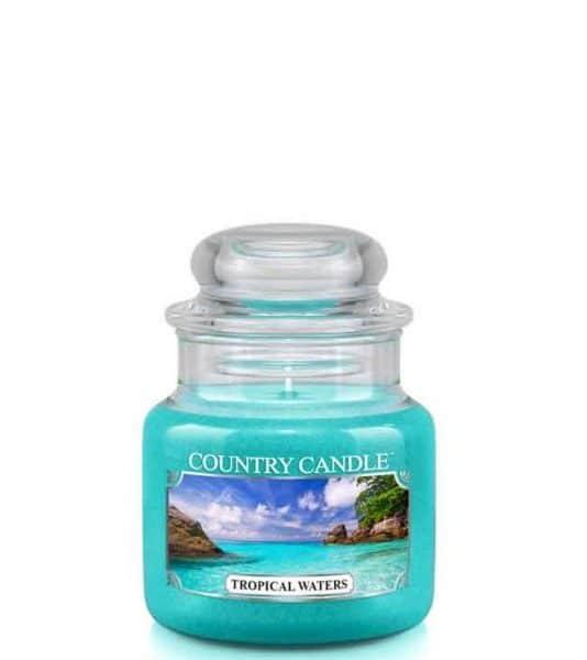 Country Candle Tropical Waters świeca zapachowa (104g)
