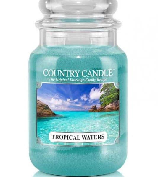 Country Candle Tropical Waters świeca zapachowa (652g)
