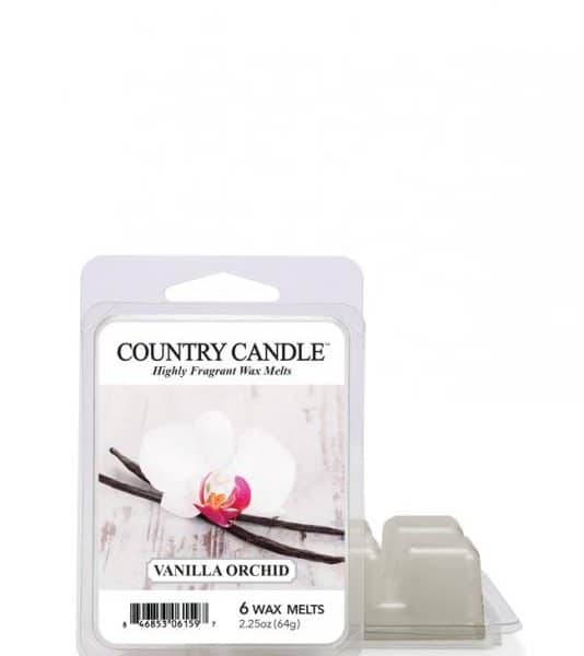 Country Candle - Vanilla Orchid - Wosk zapachowy (64g)