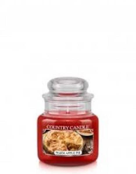 Country Candle Warm Apple Pie świeca zapachowa (104g)