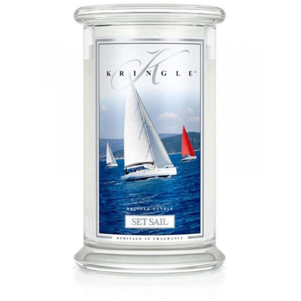 Kringle Candle Set Sail świeca zapachowa (624g)