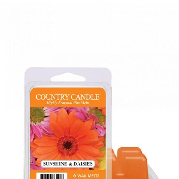 Country Candle - Sunshine and Daisies - Wosk zapachowy (64g)